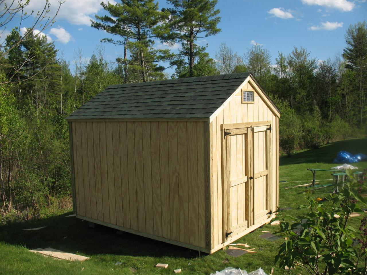 Built On Site Custom Amish Garages In Oneonta Ny: Amish Sheds Plattsburgh New York