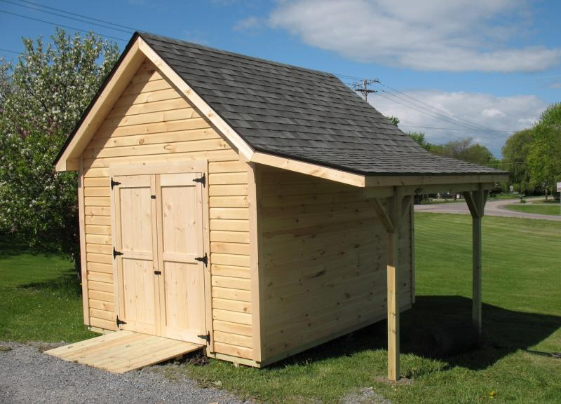 Vermont Custom Sheds Large Overhangs
