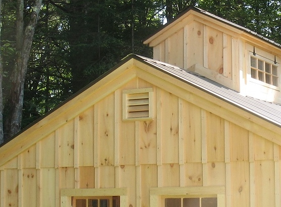 Vermont Custom Sheds Options And Upgrades
