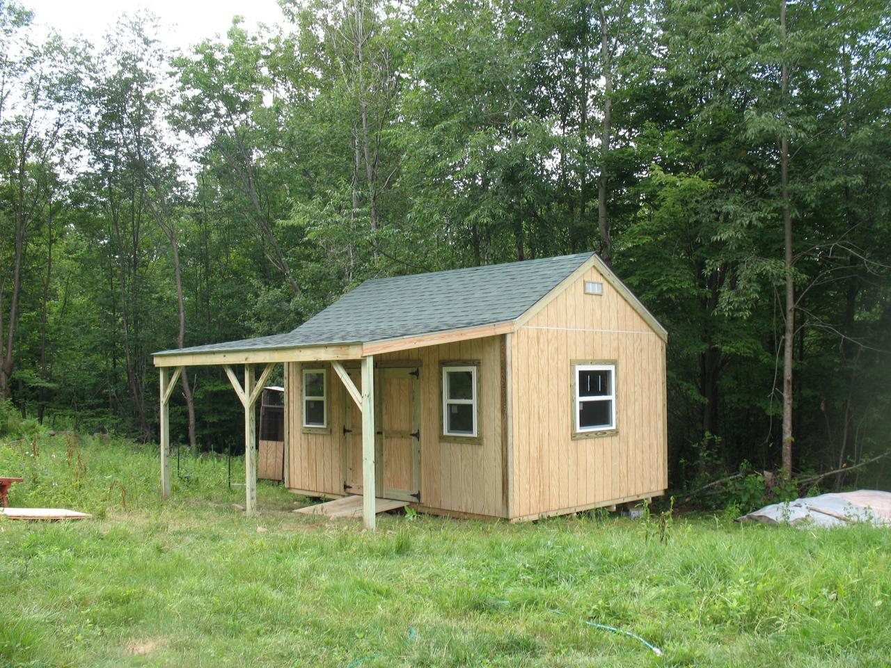 Storage sheds vermont style for Custom storage sheds