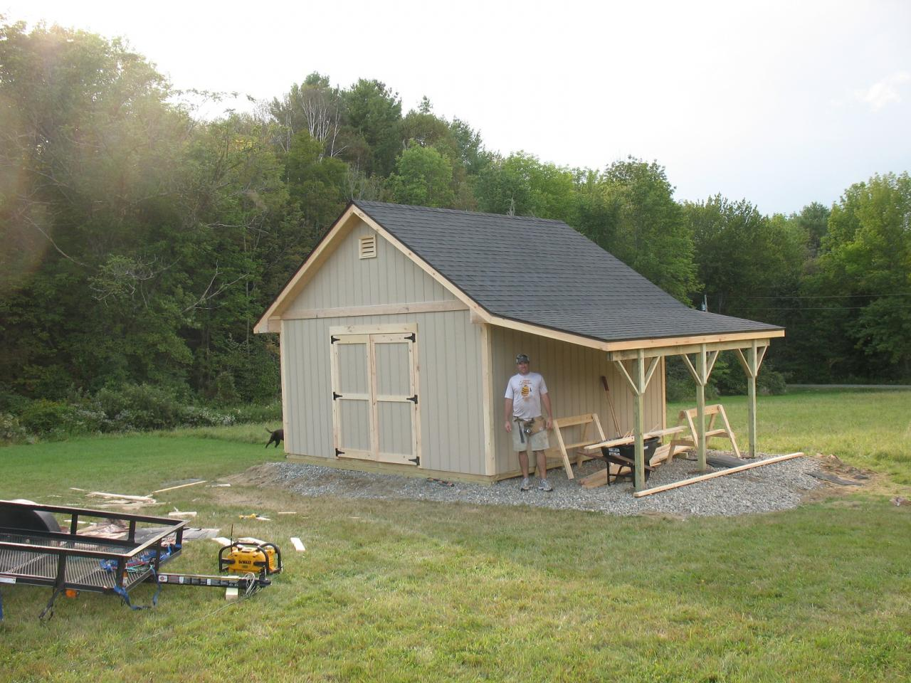 How to build a tool shed plans free greenhouse plans for Large garden buildings
